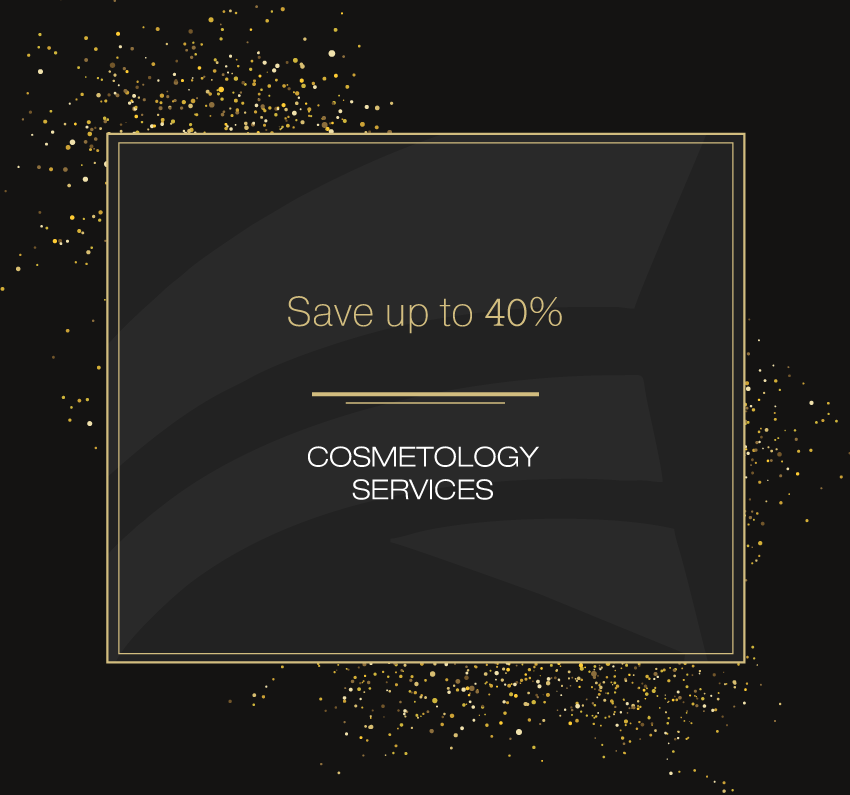 New Year discounts on cosmetology services