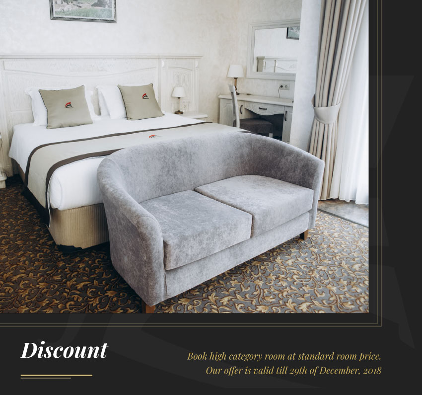 Discount on high category room